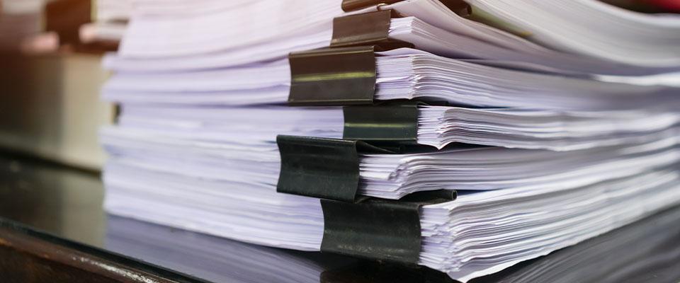 Stos dokumentów